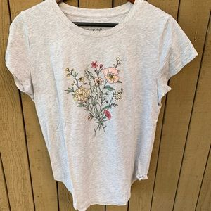 Floral Graphic Soft Tee